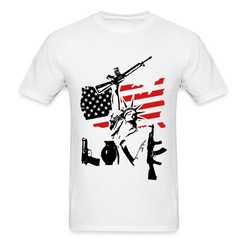 Anarchy x Love - Men's T-Shirt