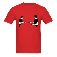 T-Shirts ~ Men's T-Shirt ~ Animals Table T-Shirt