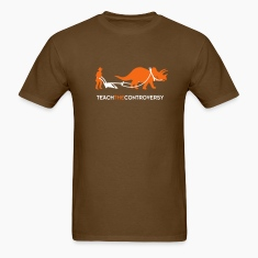 dino-Human Coexistence (Teach the Controversy) T-Shirts
