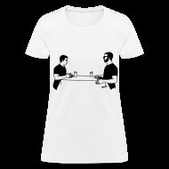 Women's T-Shirts ~ Women's T-Shirt ~ Animals Table T-Shirt (women)
