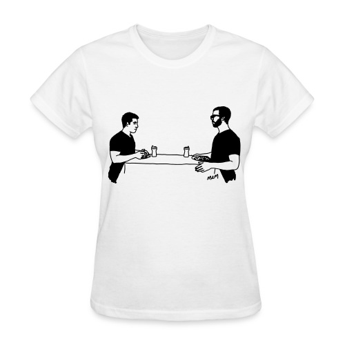 Animals Table T-Shirt (women) - Women's T-Shirt