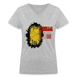 New Black Gold Womens V - Neck - Women's V-Neck T-Shirt