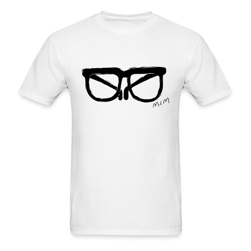 Animals Glasses T-shirt - Men's T-Shirt
