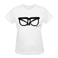 T-Shirts ~ Women's T-Shirt ~ Animals Glasses T-shirt (Women)