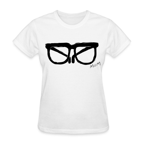 Animals Glasses T-shirt (Women) - Women's T-Shirt
