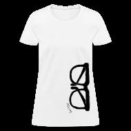 T-Shirts ~ Women's T-Shirt ~ Animals Glasses 2 T-shirt 2 (women)