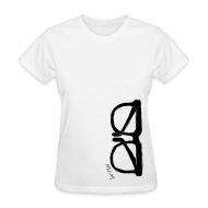 Women's T-Shirts ~ Women's T-Shirt ~ Animals Glasses 2 T-shirt 2 (women)