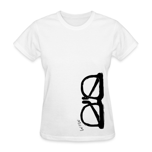 Animals Glasses 2 T-shirt 2 (women) - Women's T-Shirt