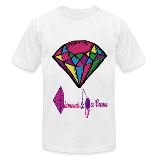 Diamonds - Men's  Jersey T-Shirt