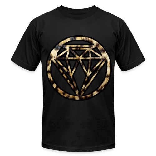 Cheetah Diamond - Men's Fine Jersey T-Shirt