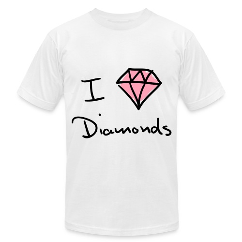 I Diamond - Men's Fine Jersey T-Shirt