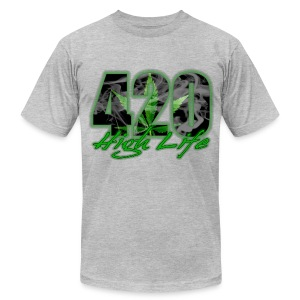 420 high life - Men's Fine Jersey T-Shirt