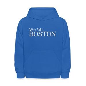 We 'ah Boston - Kids' Hoodie