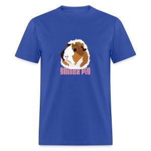 Retro Guinea Pig 'Elsie' Unisex T-Shirt (text) - Men's T-Shirt