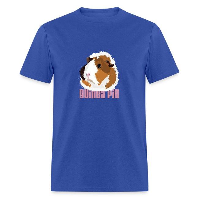 Retro Guinea Pig 'Elsie' Unisex T-Shirt (text)