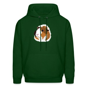 Retro Guinea Pig 'Elsie' Unisex Sweatshirt (no text) - Men's Hoodie