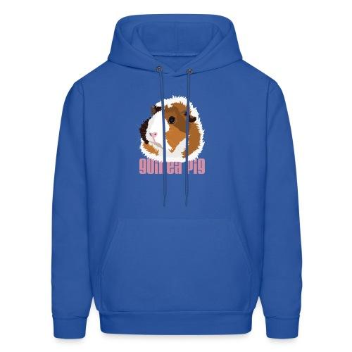 Retro Guinea Pig 'Elsie' Unisex Sweatshirt (text) - Men's Hoodie
