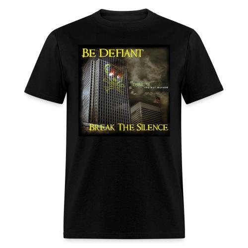 Project Mayhem CD Cover Shirt - Men's T-Shirt