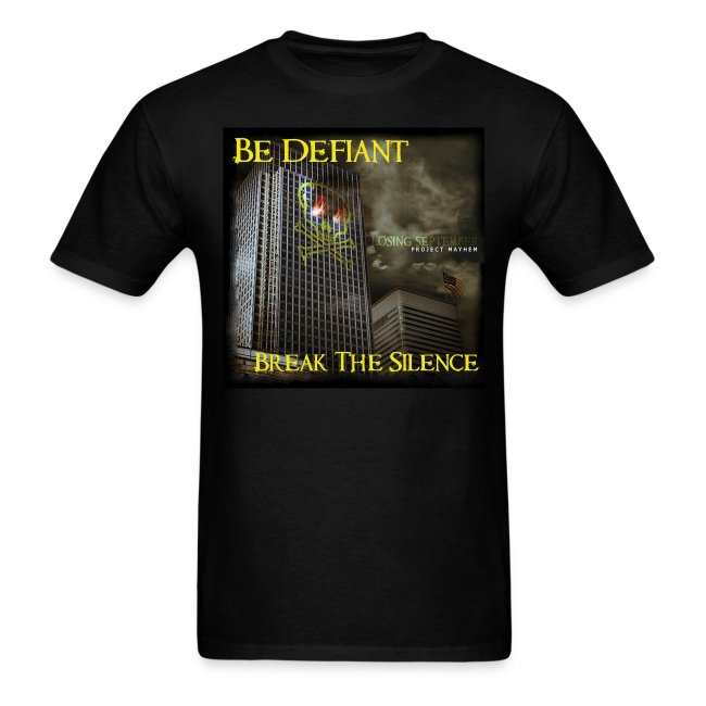 Project Mayhem CD Cover Shirt
