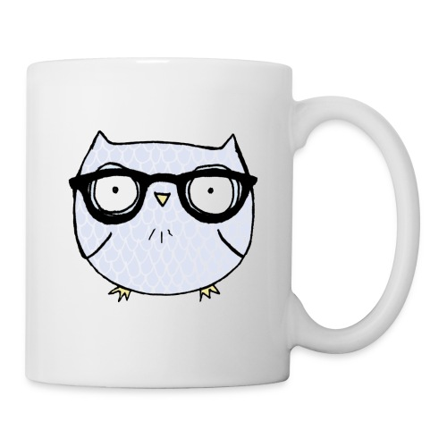 Nerd Owl Mug - Coffee/Tea Mug