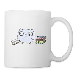 Book Owl Mug - Coffee/Tea Mug