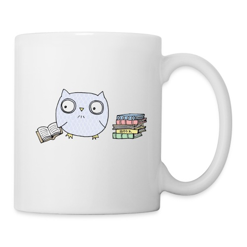 Book Owl Mug - Coffee/Tea Mug