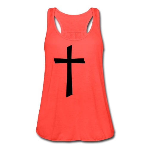 cross tank top - Women's Flowy Tank Top by Bella