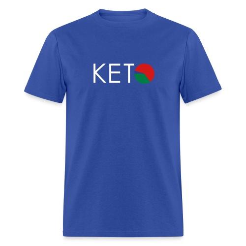 White Font - Men's FLEX Print T-Shirt - Standard Weight Cotton - Men's T-Shirt
