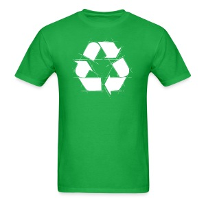 Recycling Logo  - Men's T-Shirt