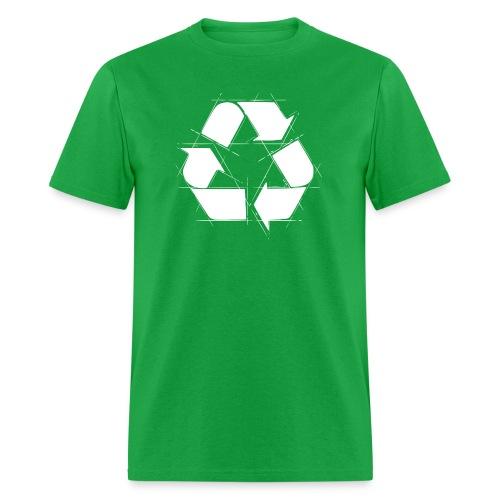 Recycling Logo  - Men's T-Shirt