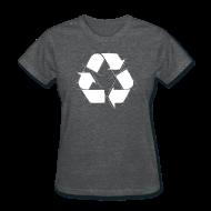 Women's T-Shirts ~ Women's T-Shirt ~ Recycling Logo
