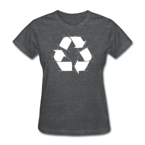 Recycling Logo  - Women's T-Shirt