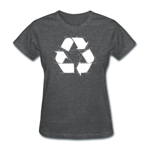 Recycling Logo  - Women's T-Shirt