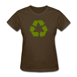 Recycle Logo Design - Women's T-Shirt