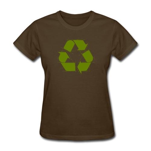 Recycle Logo Design - Women's T-Shirt