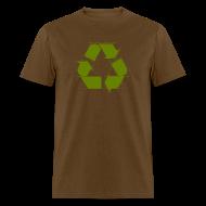 T-Shirts ~ Men's T-Shirt ~ Recycle Logo Design