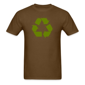 Recycle Logo Design - Men's T-Shirt