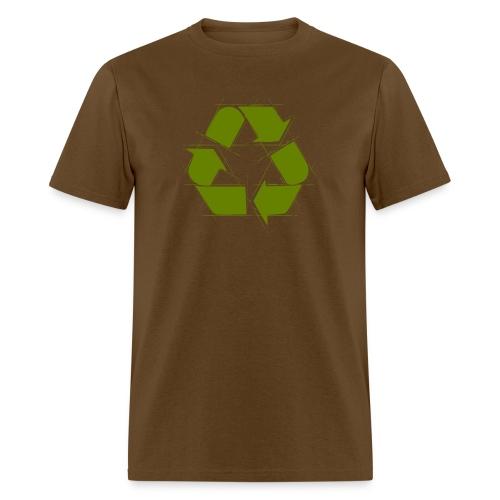 Recycle Logo Design - Men's T-Shirt