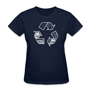 Recycling Tee (white) - Women's T-Shirt