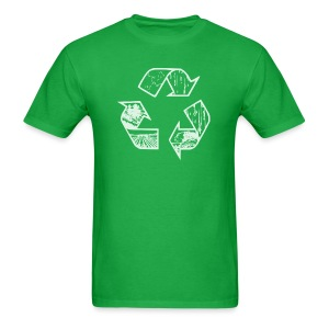 Recycling Tee (white) - Men's T-Shirt
