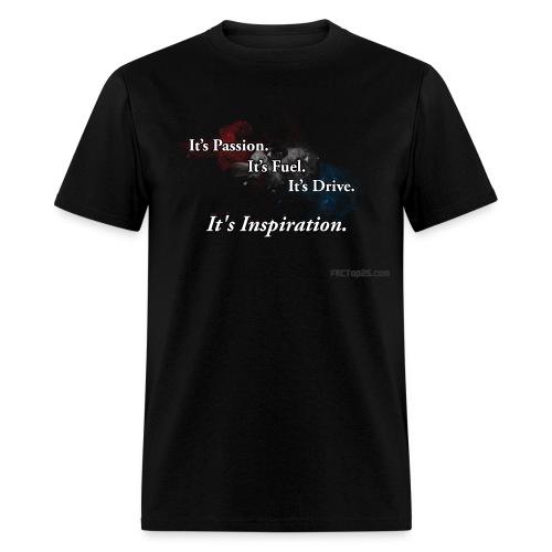 Its Inspiration - Men's T-Shirt