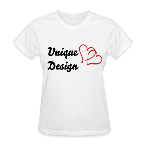 double_heart - Women's T-Shirt