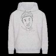 Hoodies ~ Men's Hooded Sweatshirt ~ Kwangsoo