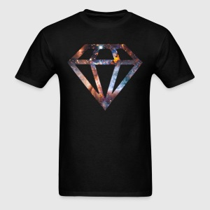 Cosmic Diamond T-Shirts - Men's T-Shirt