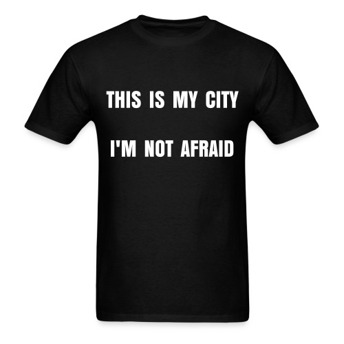 This is My City - Black - Men's T-Shirt