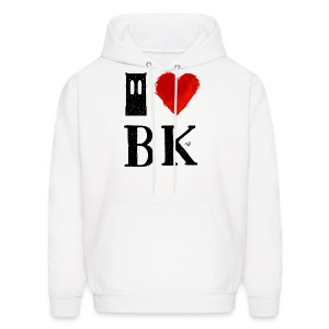 I Heart Brooklyn (remix) by Tai's Tees - Men's Hoodie