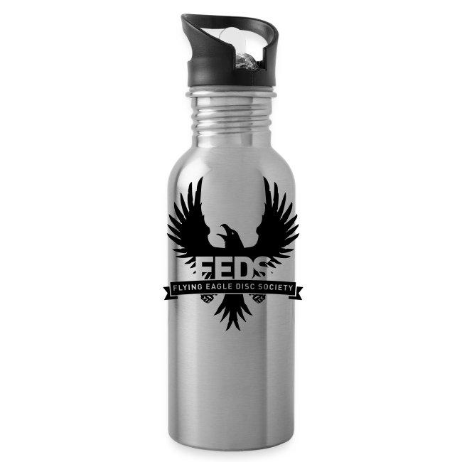 Water Bottle - Black Logo