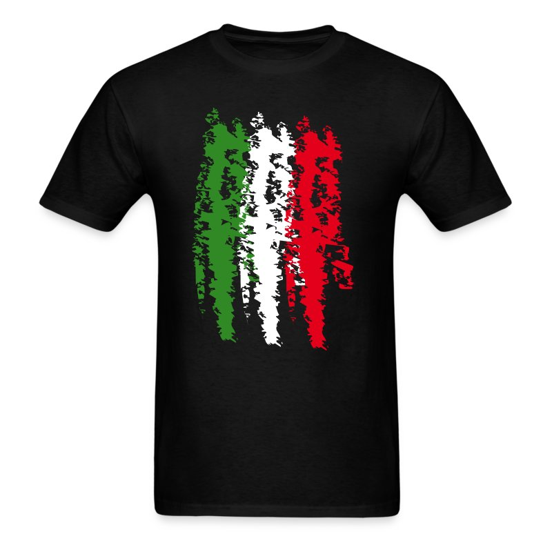 Italy flag vintage graffiti support t shirt spreadshirt for Shirts made in italy