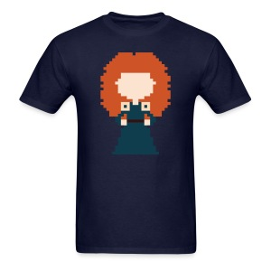 Men's 8-Bit Merida - Men's T-Shirt