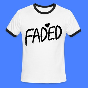 Faded XO T-Shirts - Men's Ringer T-Shirt